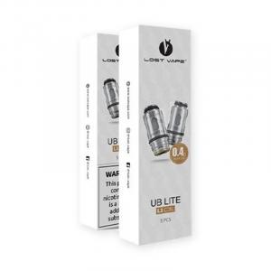 Résistances UB Lite L1/L3/L5/L6 - Lost Vape 0.4 ohm