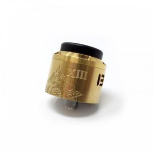 Arcane 13 RDA - Thirteen Technology Gold Brass