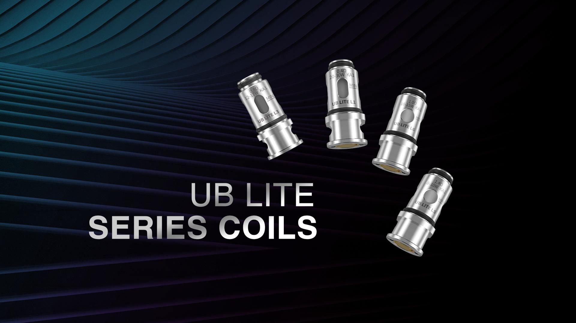 Résistances UB Lite L1/L3/L5/L6 - Lost Vape1